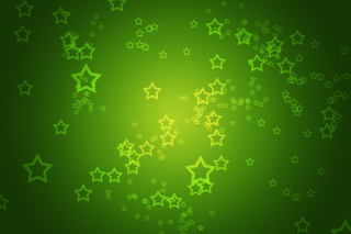 Green Stars Wallpaper for Android, iPhone and iPad