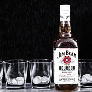 Jim Beam, Bourbon - Obrázkek zdarma pro 320x320