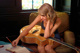 Taylor Swift - Obrázkek zdarma pro 1024x600