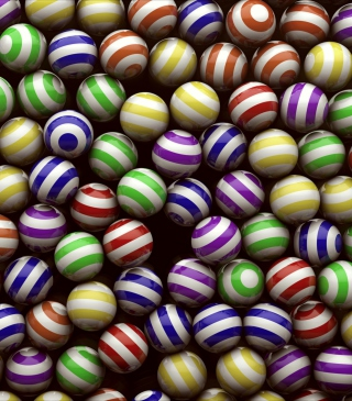 Spheres - Obrázkek zdarma pro iPhone 4