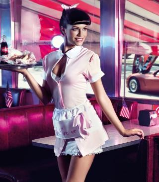 American Waitress - Obrázkek zdarma pro Nokia X6