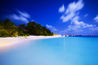 Maldivian Night Wallpaper for Android, iPhone and iPad