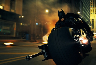 Batman In Dark Knight Rises Background for Android, iPhone and iPad