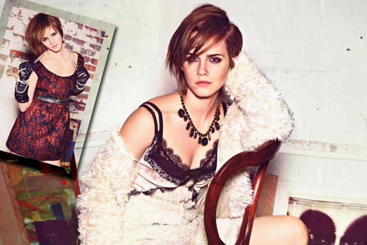Glamourous Style Of Emma Watson wallpaper