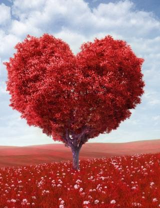 Heart Tree - Obrázkek zdarma pro 768x1280