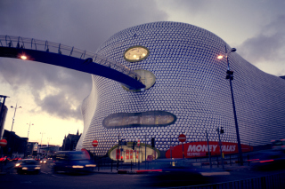 Shopping in Birmingham Wallpaper for Android, iPhone and iPad
