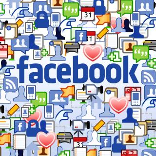 Facebook Wide - Obrázkek zdarma pro 320x320