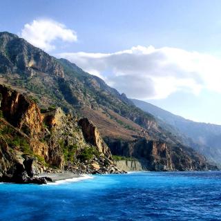 Crete Island Rock - Obrázkek zdarma pro 208x208