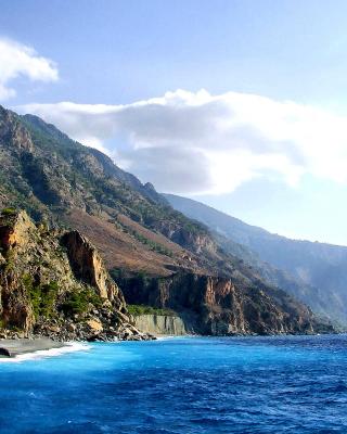 Crete Island Rock - Obrázkek zdarma pro Nokia X2-02