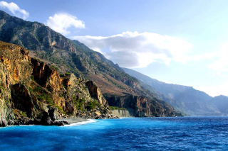 Crete Island Rock Wallpaper for Android, iPhone and iPad