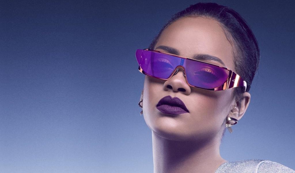 Screenshot №1 pro téma Rihanna in Dior Sunglasses 1024x600