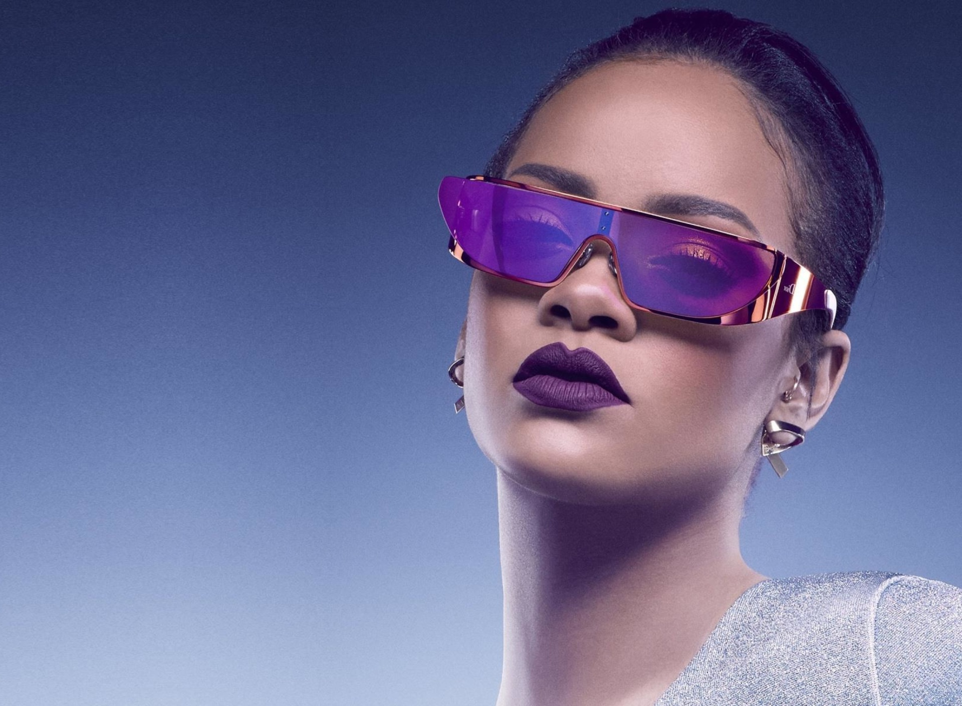 Screenshot №1 pro téma Rihanna in Dior Sunglasses 1920x1408