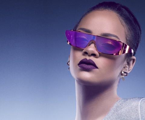 Screenshot №1 pro téma Rihanna in Dior Sunglasses 480x400