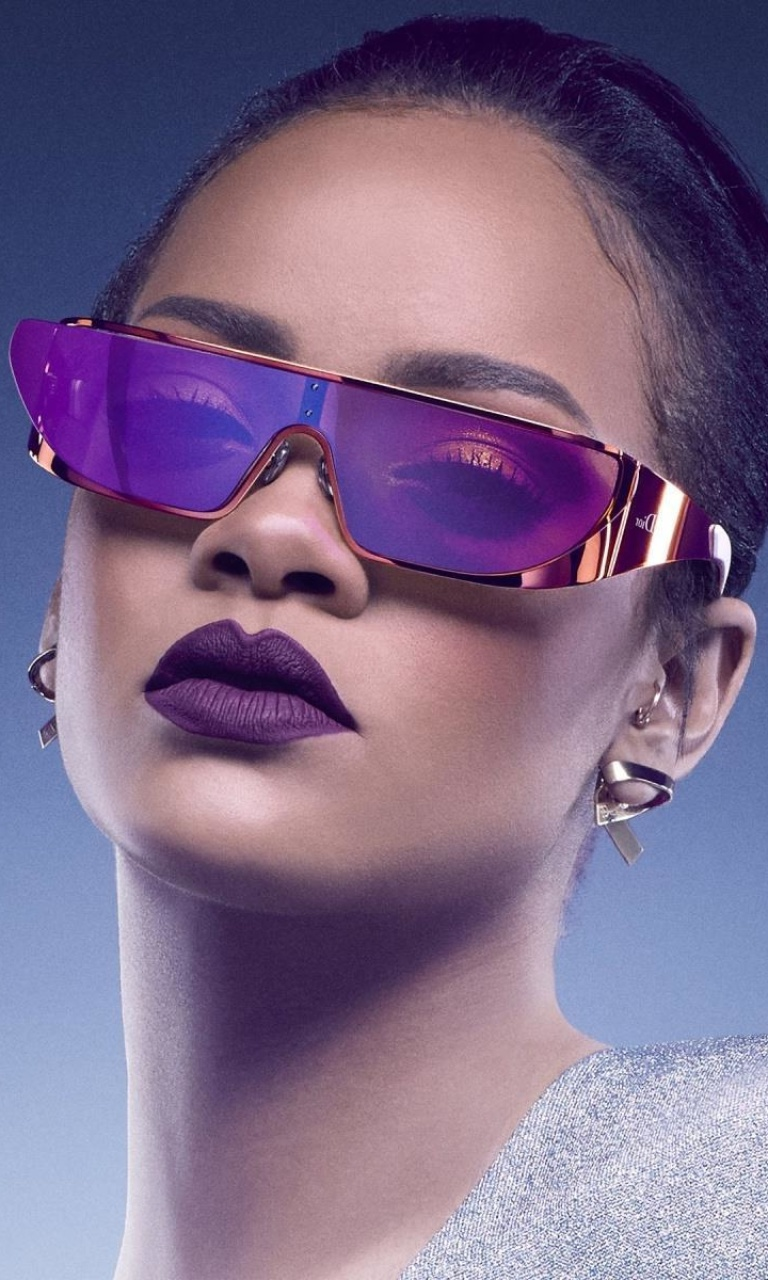 Screenshot №1 pro téma Rihanna in Dior Sunglasses 768x1280