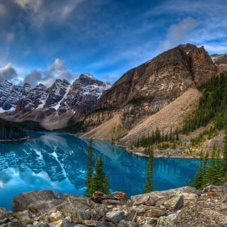 Mountain Lake - Obrázkek zdarma pro iPad