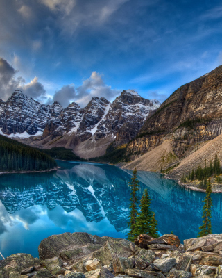 Mountain Lake - Obrázkek zdarma pro 640x1136
