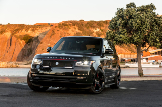 Range Rover STRUT with Grille Package - Obrázkek zdarma pro Widescreen Desktop PC 1920x1080 Full HD