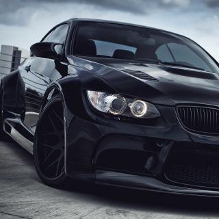 Black BMW E93 series 3 - Obrázkek zdarma pro 208x208