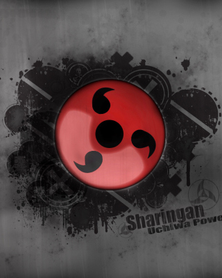 Sharingan, Naruto - Obrázkek zdarma pro Nokia Asha 306