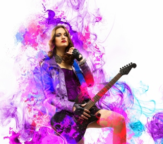 Music Girl - Obrázkek zdarma pro iPad mini