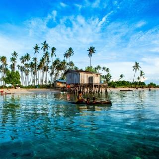 Malaysia Tropical Coast - Obrázkek zdarma pro 1024x1024