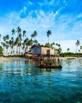 Malaysia Tropical Coast - Obrázkek zdarma pro Nokia Asha 306