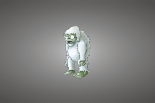Zombie Snowman Wallpaper for Android, iPhone and iPad