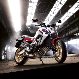 Honda CB650 Custom Motorcycle - Obrázkek zdarma pro 128x128