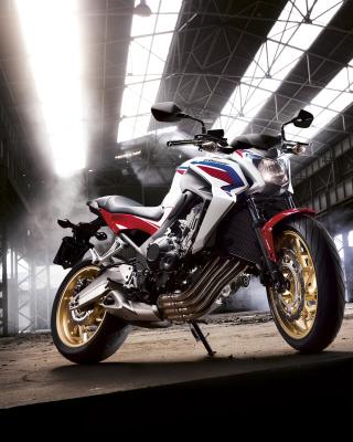 Honda CB650 Custom Motorcycle - Obrázkek zdarma pro Nokia Asha 503