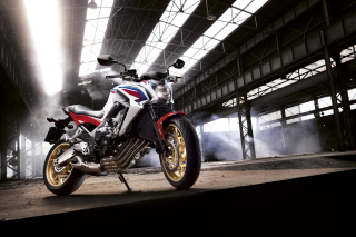 Free Honda CB650 Custom Motorcycle Picture for Android, iPhone and iPad