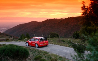 Citroen C4 WRC Background for Android, iPhone and iPad