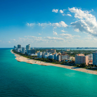South Beach in Miami - Obrázkek zdarma pro 208x208