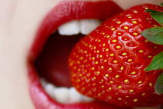 Tasty Strawberry Wallpaper for Android, iPhone and iPad
