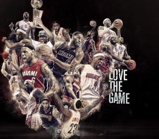 NBA, Basketball, Miami - Obrázkek zdarma pro 208x208