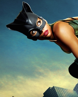 Catwoman Halle Berry - Obrázkek zdarma pro 640x1136