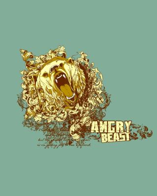 Angry Beast - Obrázkek zdarma pro 480x640