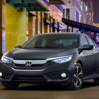 2015 Honda Civic - Obrázkek zdarma pro 128x128