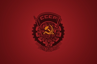 Ussr Logo Background for Android, iPhone and iPad