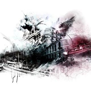 Photoshop City - Obrázkek zdarma pro iPad 3