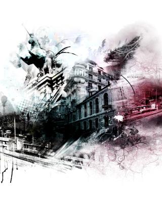 Photoshop City - Obrázkek zdarma pro Nokia Asha 306