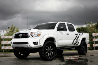 Sport Toyota Tacoma Background for Android, iPhone and iPad
