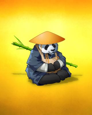 Funny Panda Illustration - Obrázkek zdarma pro Nokia Lumia 810