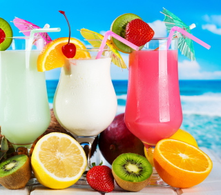 Summer Drinks - Obrázkek zdarma pro iPad Air