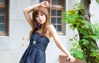 Asian Girl Wallpaper for Android, iPhone and iPad