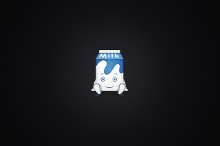 Free Funny Milk Pack Picture for Android, iPhone and iPad