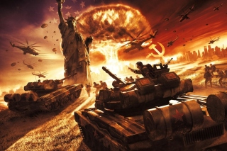 World War III Background for Android, iPhone and iPad