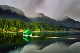 Capilano Lake in North Vancouver Wallpaper for Android, iPhone and iPad
