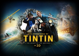 The Adventures Of Tintin 3D Background for Android, iPhone and iPad