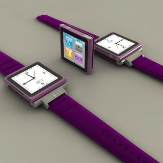 Apple Watches and iPod Nano - Obrázkek zdarma pro 1024x1024