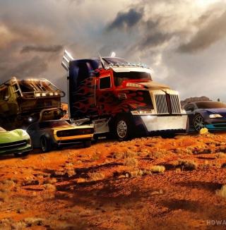 Transformers - Obrázkek zdarma pro iPad 3